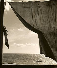 Herbert List. Looking out to the Sea.
