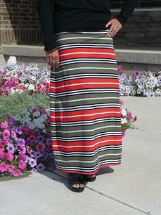 little of Everything: Maxi Skirt Tutorial