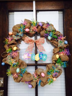 Easter wreath!!