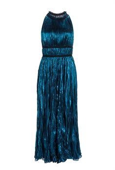 Pinko Long <b>elegant dress</b> in laminated Georgette