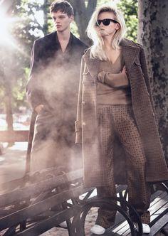 Anja Konstantinova, Kori Richardson, Odin Grina, Reid Rohling by Alexi Lubomirski for Vogue Russia August 2015