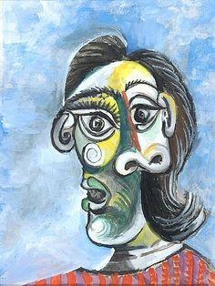 Pablo Picasso, 1939 Portrait de Dora Maar 4