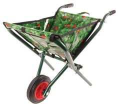 need this nifty wheelbarrow adaptation! easy storage and cleaning