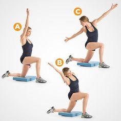 Kneeling Hip Flexor Stretch https://www.womenshealthmag.com/fitness/workout-for-bad-knees #HipFlexorsStretches