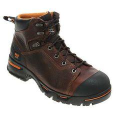 Timberland Pro Endurance PR 6 Inch Steel Toe - Men's Work Boots Brown