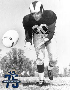Tom Fears, Los Angeles Rams. Class of 1970.