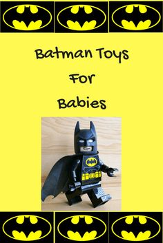Batman toys for babies brings the best gifts and Batman baby toys including ride toys, baby walkers, soft toys, teethers and more! Holiday Crafts For Kids, Christmas Gifts For Kids, Baby Play, Baby Toys, Toys For Boys, Kids Toys, Best Toddler Toys, Baby Batman, Birthday Gifts For Boys