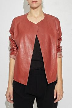 Corallo Leather Jacket
