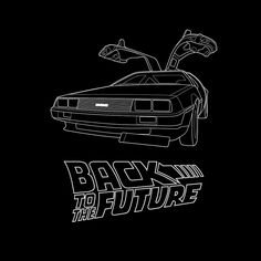 Delorean Time Machine, Bttf, Movie Tees, Back To The Future, Aesthetic Vintage, Star Wars Art, Art Sketchbook, Easy Drawings, Wall Collage