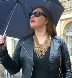 It's raining….Parisian style that is.