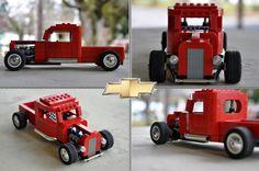 Lego Custom '36 Chevy Truck | Flickr - Photo Sharing!