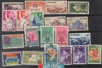 South Vietnam Stamps - 20 Different South Vietnam Stamps, Used - (9V05T)