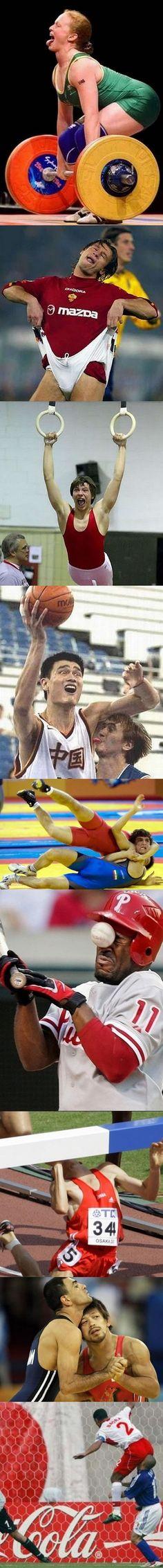 athlete fails
