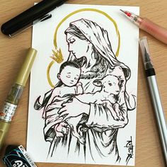 Jesus Mother, Blessed Mother, Patron Saint Of Music, Diy Clothes Videos, Heart Of Jesus, Holy Mary, Patron Saints, Lent, Our Lady