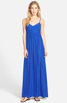 Main Image - Felicity & Coco Woven Maxi Dress (Regular & Petite) (Nordstrom Exclusive)