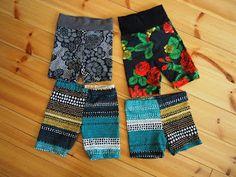 Pikkupojille housuja, paitoja ja kesäksi shortsit