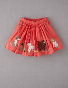Embroidered Skirt--Boden  This would be sooo cute on my Alison!