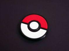 Rare Fidget Spinner Toy Pokemon Pokeball Anti-Stress