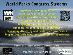 These streams need to become a river #WorldParksCongress @WPCSydney @OlivierChassot @Chase Besancon @IUCN_CEC @hehawaiiau @EduardMullerC by plane...