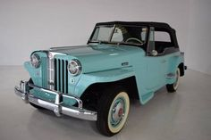 1948 Willys Jeepster.