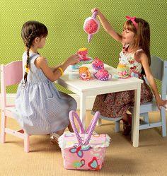 Tea Party Set - Kwik Sew #4006