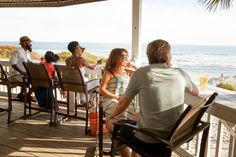 Enjoy Oceanfront Dining Just Outside Of Charleston Sc With Wild Dunes Resort S Beachside Burgers Amp