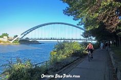 Humber river trail River Trail, River Park, Park Trails, Bike Path, Sydney Harbour Bridge, Bmx, Paths, Cycling, Bicycle