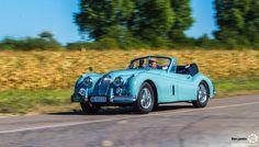 Jaguar XK140 aux 48h Automobiles de Troyes #MoteuràSouvenirs Reportage : http://newsdanciennes.com/2016/09/12/les-48h-automobiles-de-troyes-2016-cetaient-quatre-jours-de-bonheur/