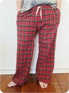 Adult Pajama Pants Sewing Pattern is Here!!