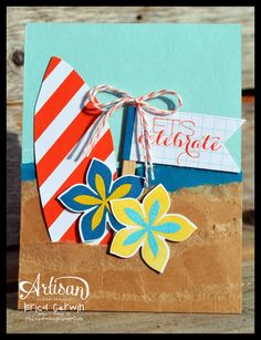 Pink Buckaroo Designs: Tropical Flower Patch- Artisan Design Team Blog Hop