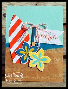 Pink Buckaroo Designs: Tropical Flower Patch- Artisan Design Team Blog Hop