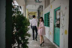 Prewedding Fun dan Seru ala Dea dan Stu di Singapura -