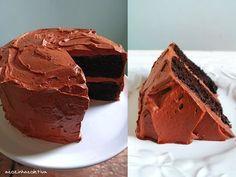 Olás, dia desses recebi um mail de uma leitora pedindo uma boa receita de bolo de chocolate para festas. Já me perguntaram antes sobre massa...