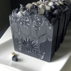 Handcrafted Artisan Soap. Fresh, masculine scent. Black Tie. $6.50, via Etsy.