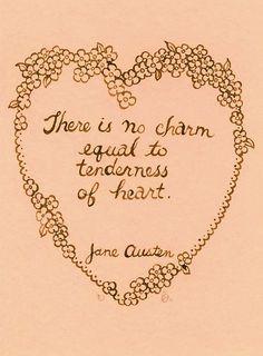 Splashes of Joy • ballerina67: Tenderness of heart……Jane Austen