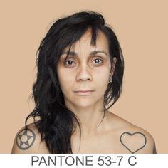 Pantone Skin colors