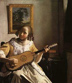 Jan Vermeer van Delft - The Guitar Player