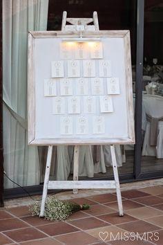 Nuria + Ángel: La decoración de la boda | Bodas