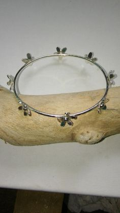 Silver bangle, Silver bangle bracelet. £62.00