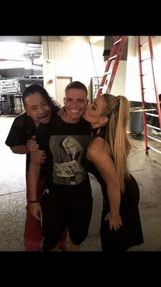 Natalya, TJ, Shinsuke Nakamura