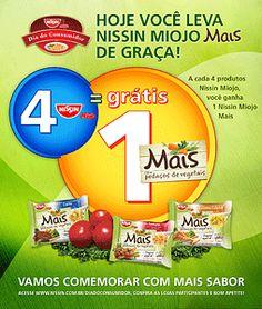 Nissin Mais - Anúncio no jornal Metro para promoção no Dia do Consumidor