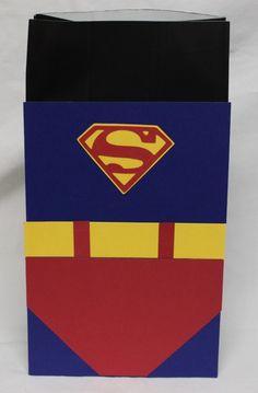 Superman favor bags for our little superhero birthdays :-) Superhero Baby Shower, Superhero Kids, Superhero Party, Kid Party Favors, Party Favor Bags, Party Party, Gift Bags, Sibling Birthday Parties, Baby Birthday