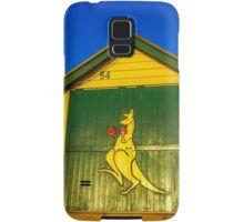 The Boxing Kangaroo at Brighton Beach - Melbourne, Victoria Samsung Galaxy Case/Skin