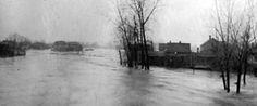 The most widespread natural catastrophe in American history started with a Good Friday tornado outbreak in 1913 that devastated first Terre Haute, then Omaha. Twisters were followed by torrents. The downpour continued until the following Tuesday. Dayton, OH, under 20 feet of water, faced the worst disaster in its history. The rain and flood affected 15 states, from Ohio and Indiana to Illinois and south along the Ohio and Mississippi Rivers. The Wabash and White Rivers overflowed,