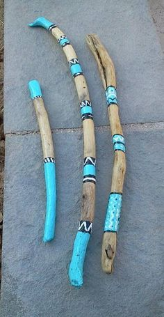 Kreativ This article is not available # painted sticks Painted Driftwood Sticks Spirit Sticks Tips F Spirit Sticks, Painted Driftwood, Driftwood Art, Wood Sticks, Painted Sticks, Stone Painting, Painting On Wood, Driftwood Projects, Stick Art