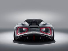 Lotus' new Evija will be the world's most powerful series production car. It's an all-electric, carbon-fibre hypercar, which Lotus is aiming to equip with fo. Maserati, Bugatti, Lamborghini, Lotus Auto, Lotus Car, Luxury Sports Cars, British Sports Cars, Porsche, Audi