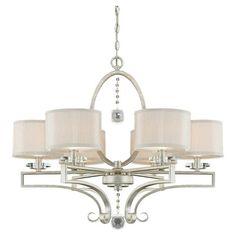 House of Hampton Becquere 6 Light Drum Chandelier