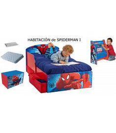 Habitación Spiderman 1. Colchón y almohada. HABSP1