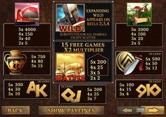 Бесплатный игровой слот автомат Sparta