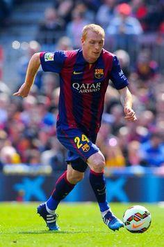 Jeremy Mathieu, French defender of FC Barcelona